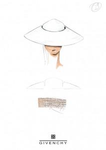 Franck Audrain-Givenchy-Collection-PE-1999-Chapeaux-