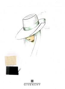 Franck Audrain-Givenchy-Collection-PE-1999-Chapeaux