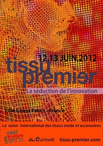 Franck Audrain-Infographie-Eurovet-Affiche-Salon-Tissu Premier-