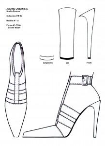 Franck Audrain-Lanvin-Collection-PE-94-Chaussure
